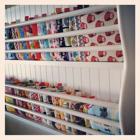 Plate Storage Rack For Storing Fabric Sewing Room