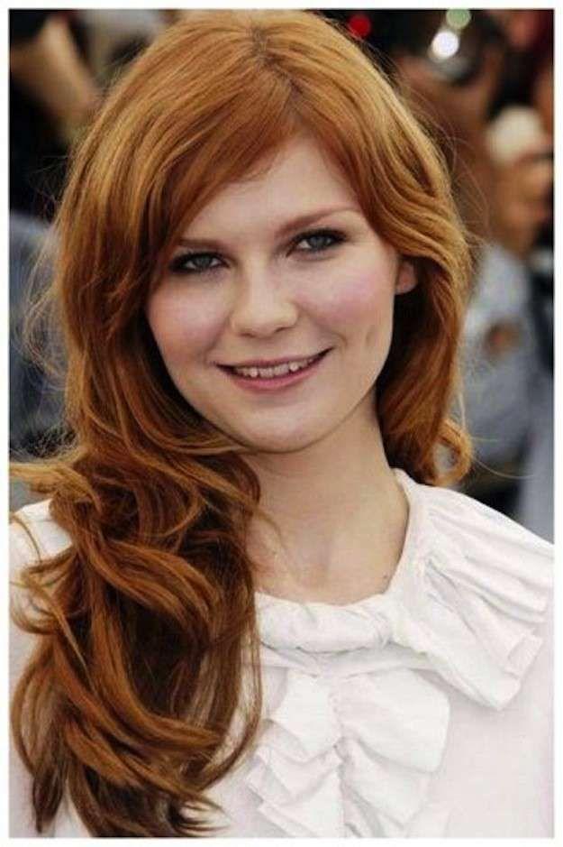 Cortes de pelo para cara redonda: Fotos de los cortes de pelo - Flequillo y pelo largo cara redonda