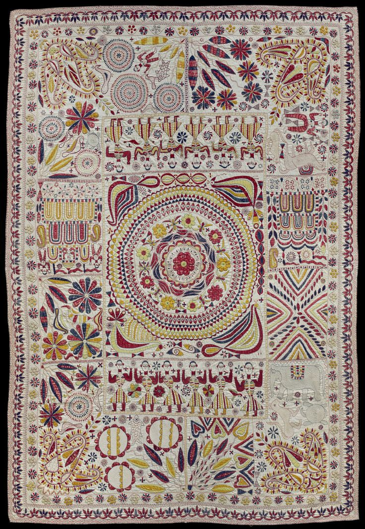 Indian Embroidered Sarees: 17 Best Images About Bengali Kantha Embroidery On