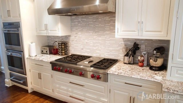 Image result for Giallo Fiesta granite and backsplash with ...