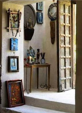 Indian home.Green Collection, Decor, Totally Indian, Indian Home, Indian Summer, Favorite Interiors, Grand Entrance, Entry Hallways, Indian Hallways