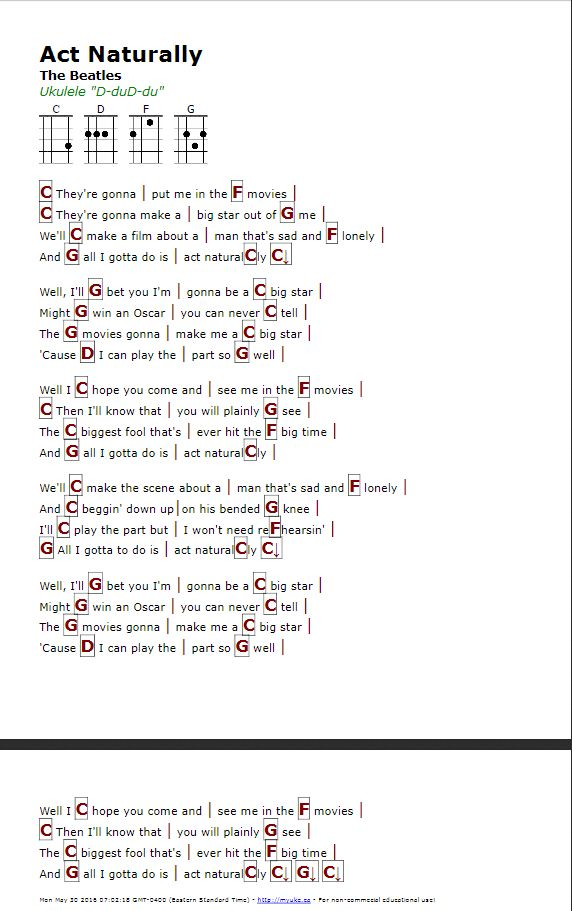 Old Fashioned Easy Beatles Guitar Chords Inspiration - Beginner ...