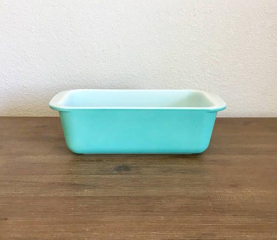 Vintage Turquoise Pyrex Ovenware; Vintage Pyrex; Pyrex Casserole Dish; Robbins Egg Blue Pyrex; Mid Century Pyrex; Vintage Kitchen #PyrexOvenware #MidCenturyPyrex #PyrexRefrigerator #VintagePyrex #RefrigeratorDish #VintageKitchen #RobbinsEggBlue #PyrexDish #TurquoisePyrex #Pyrex