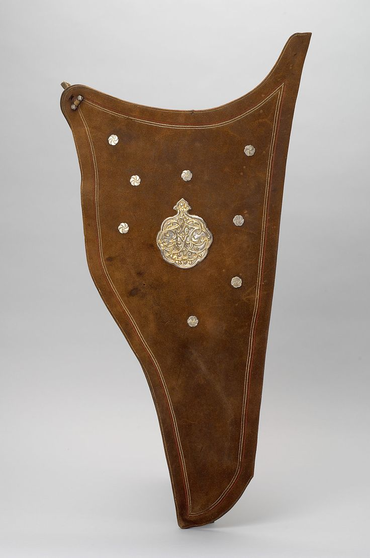 Russian-Tatar bow quiver c 1550 Brown leather, silver fittings  Kunsthistorische…