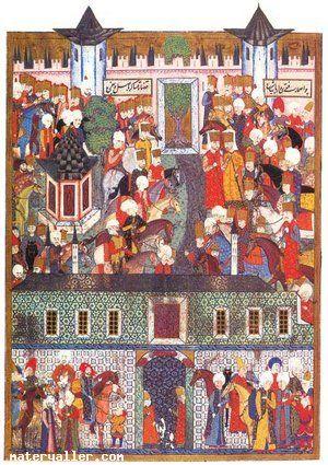 Matrakçı Nasuh-Süleymanname-Cülus Töreni
