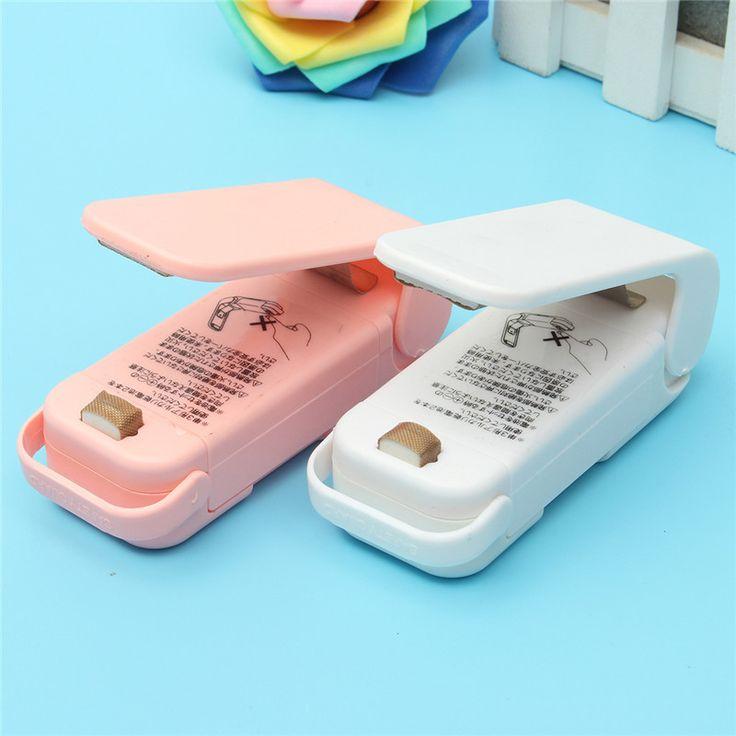 Portable Food Sealer Handheld  Plastic Bag Sealer Sealing Machine Snacks Food Storage Household Kitchen Packing