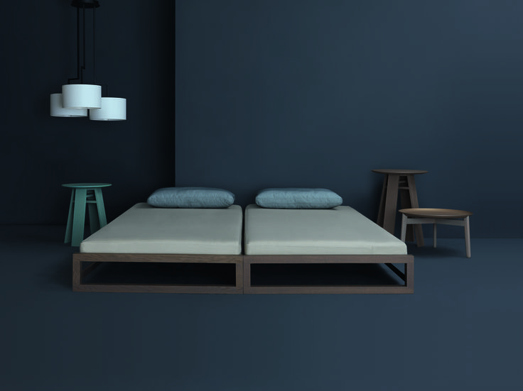Zeitraum guest bed beds pinterest beds and guest bed - Ligne roset hedendaagse bedden ...