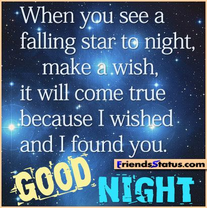 cute goodnight post | cute good night messages image