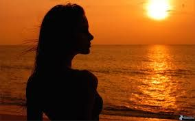 Siluetta di donna al tramonto - Cerca con Google