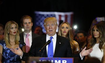 Trump Kids To Run Business While On Transition Team. Conflict of interest, napotism.