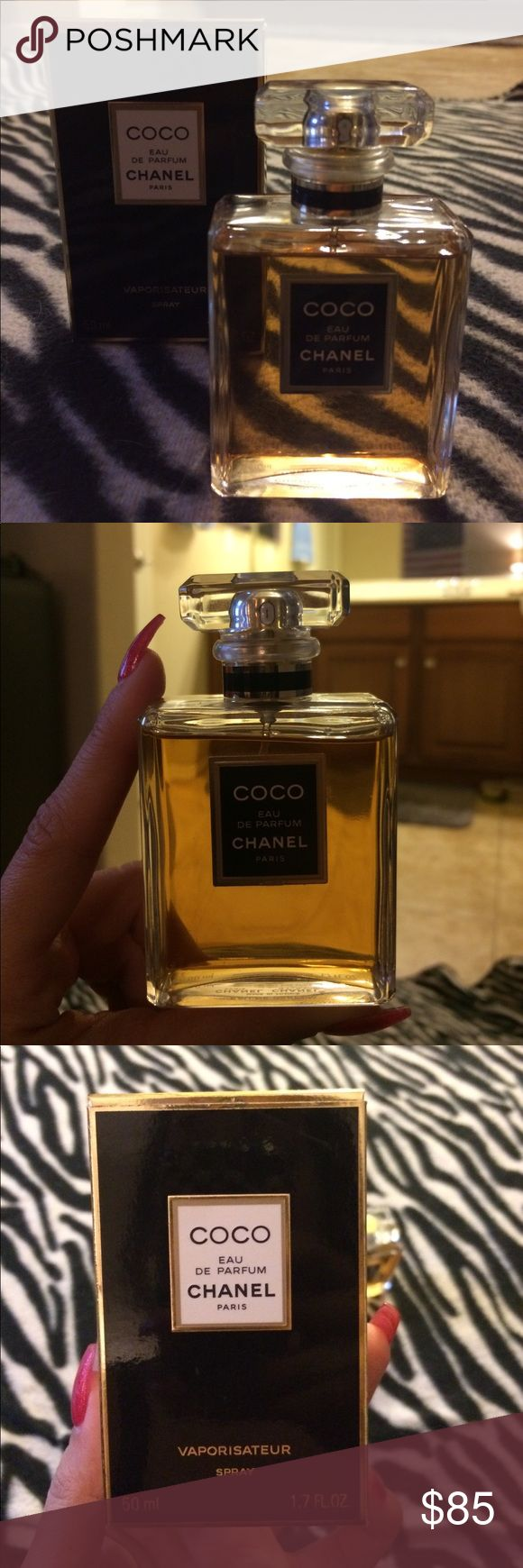 COCO CHANEL PARIS EAU DE PARFUM COCO CHANEL PARIS EAU DE PARFUM  Authentic - 95% Full (50ML - 1.7 FL.OZ.)  *No Returns* - Same day shipping. CHANEL Accessories