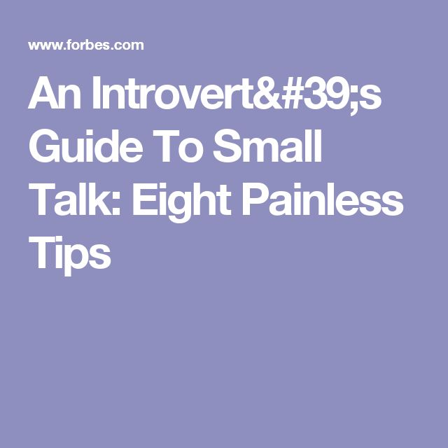 how to get an introvert to talk
