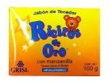 #Grisi #Ricitos de Oro with Chamomile Soap 3.5 OZ Specially made for the delicate skin of the baby. Hypoallergenic Soap. Recommended for daily use. Formulated wit...