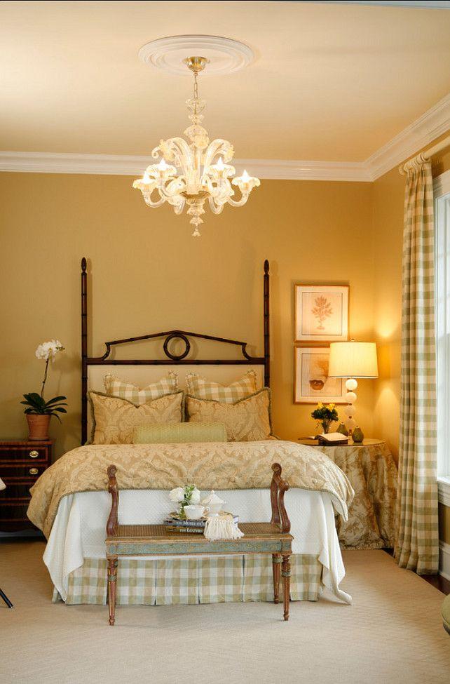 gold bedroom paint colors Best 25+ Gold painted walls ideas on Pinterest | Metallic gold wall paint, Metallic paint walls