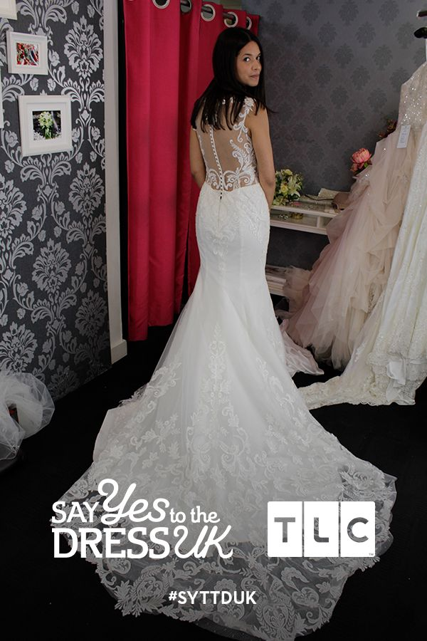 Exquisitely feminine. Would you say Yes to this dress?  Say Yes To the Dress UK on TLC! #SYTTDUK