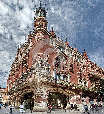 Palau de la Musica Catalana ... LLUIS DOMENECH I MONTANER 12/21/1850 - 12/27/1923