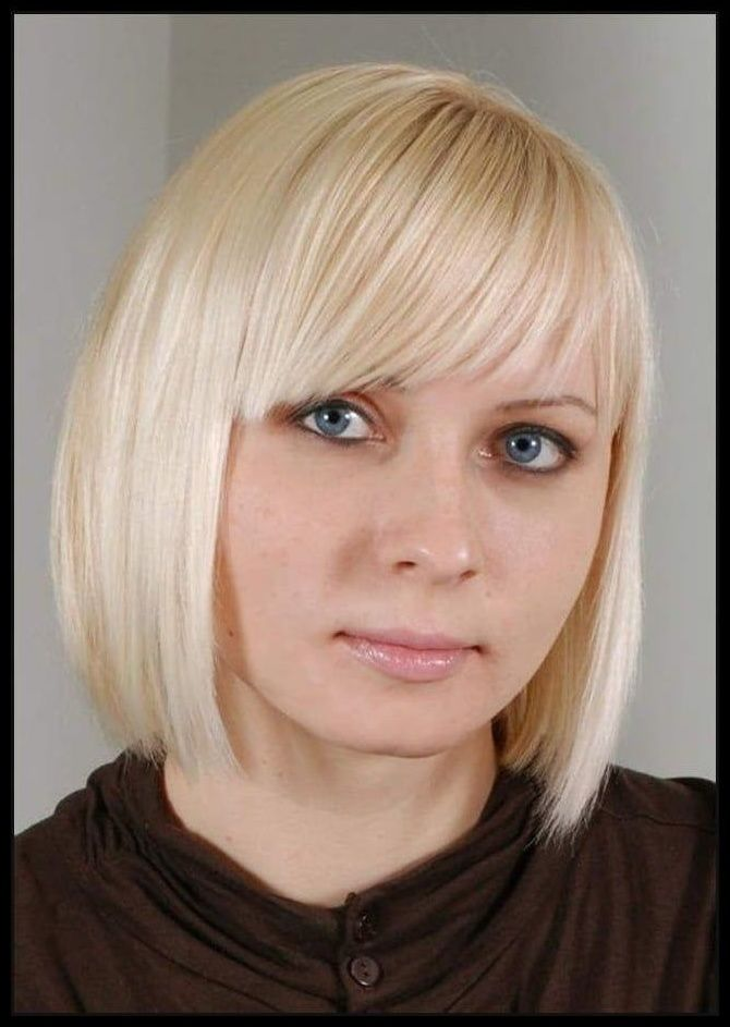 Bob frisuren damen mit pony