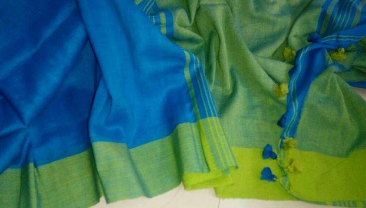 Elegant Khadi Cotton Saree by #Inspiration