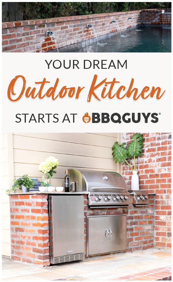 Bbqguys Has Everything You Need To Create The Outdoor Oasis You Ve Always Dreamed Of In 2020 Outdoor Kitchen Kitchen Modular Outdoor Kitchens