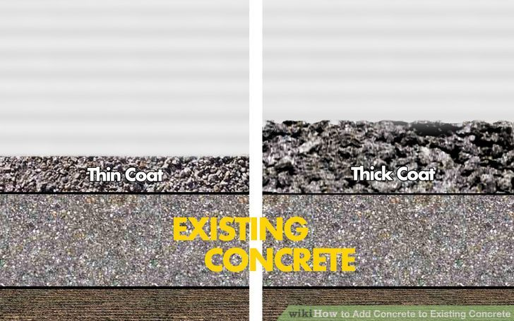 Image titled Add Concrete to Existing Concrete Step 1