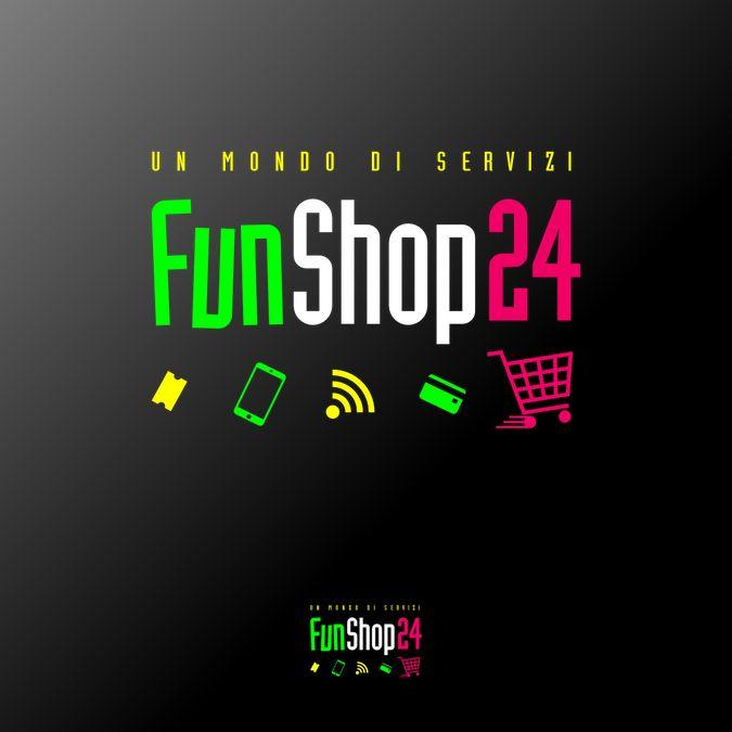 creare un logo giovane e accattivante per piattaforma di servizi e soprattutto come insegna per shop by VectorHugo