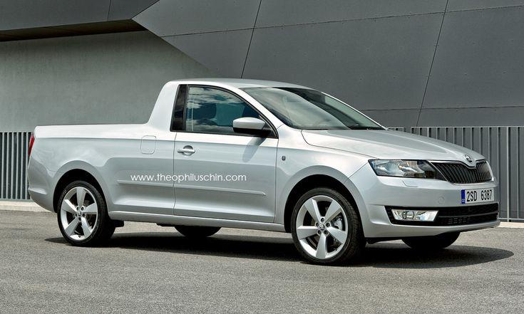 Škoda Rapid Pickup (Rendering by: theophiluschin.com)