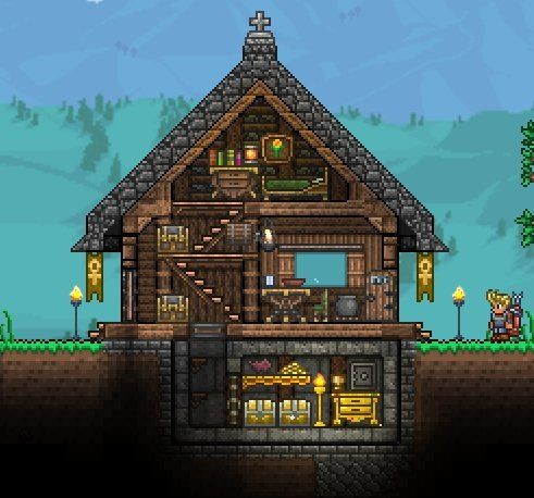 104 best images about terraria on pinterest house design for Minimalist house reddit