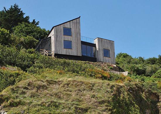 Residential-New Build-Edge of Cliff