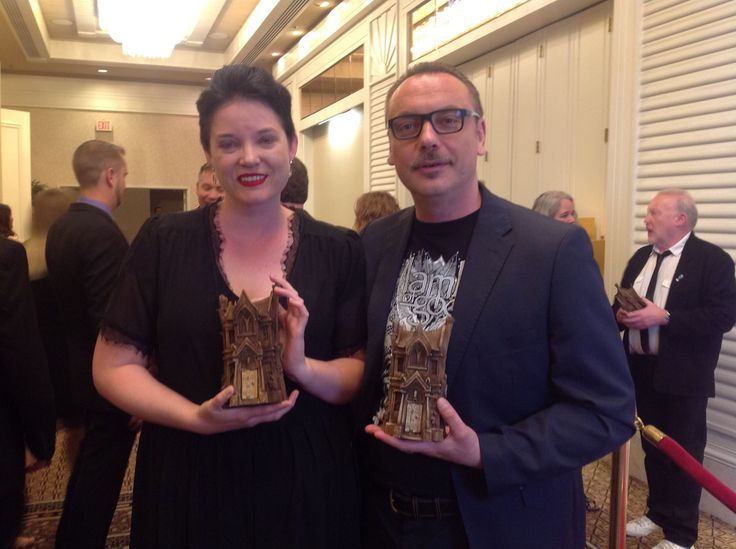 Go team Crystal Lake! Two Bram Stoker Awards:   Long Fiction by Mercedes M. Yardley: http://getbook.at/DeadAmazon & Poetry by Alessandro Manzetti: http://getbook.at/AmazonEden