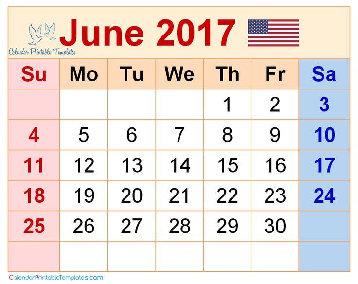 june 2017 calendar usa httpwwwcalendarprintabletemplatescomjune