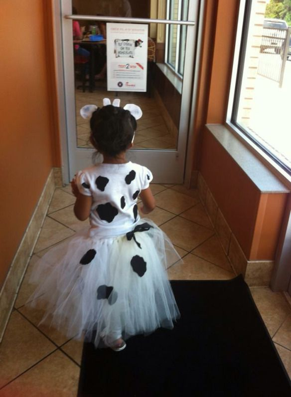 Cow Costume Tutu Tutorial   | Everyday Mommy