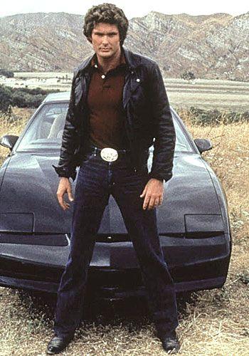 Knight Rider - Kitt & David (David Hasselhoff)