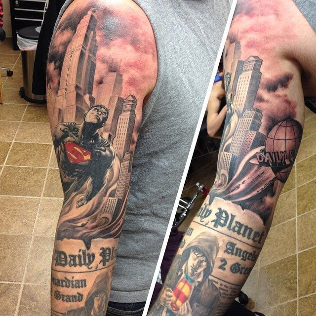 53 Best Images About Superman™ Tattoos On Pinterest