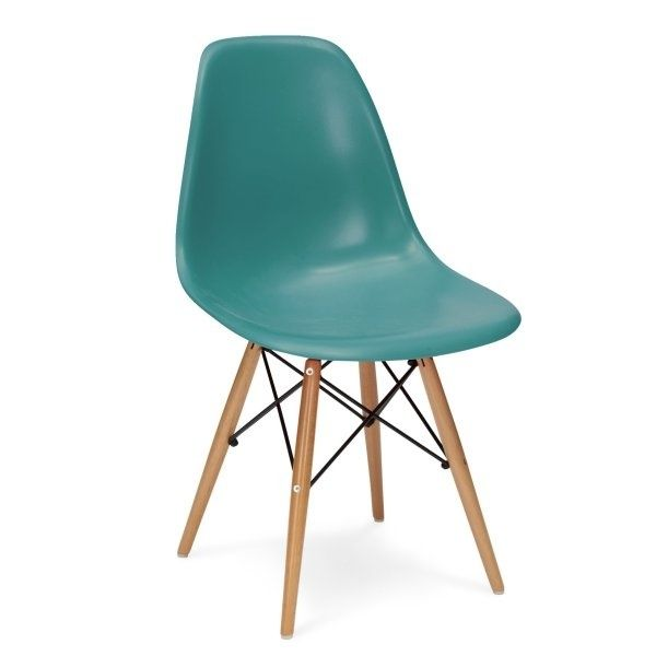 DSW Replica Stoel Blauw _ Charles Eames Design - Furnish Spot