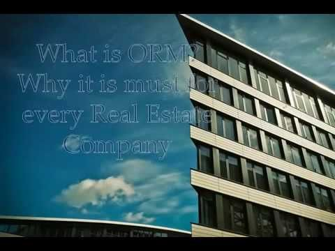 What is ORM and why it is must for every Real Estate Company