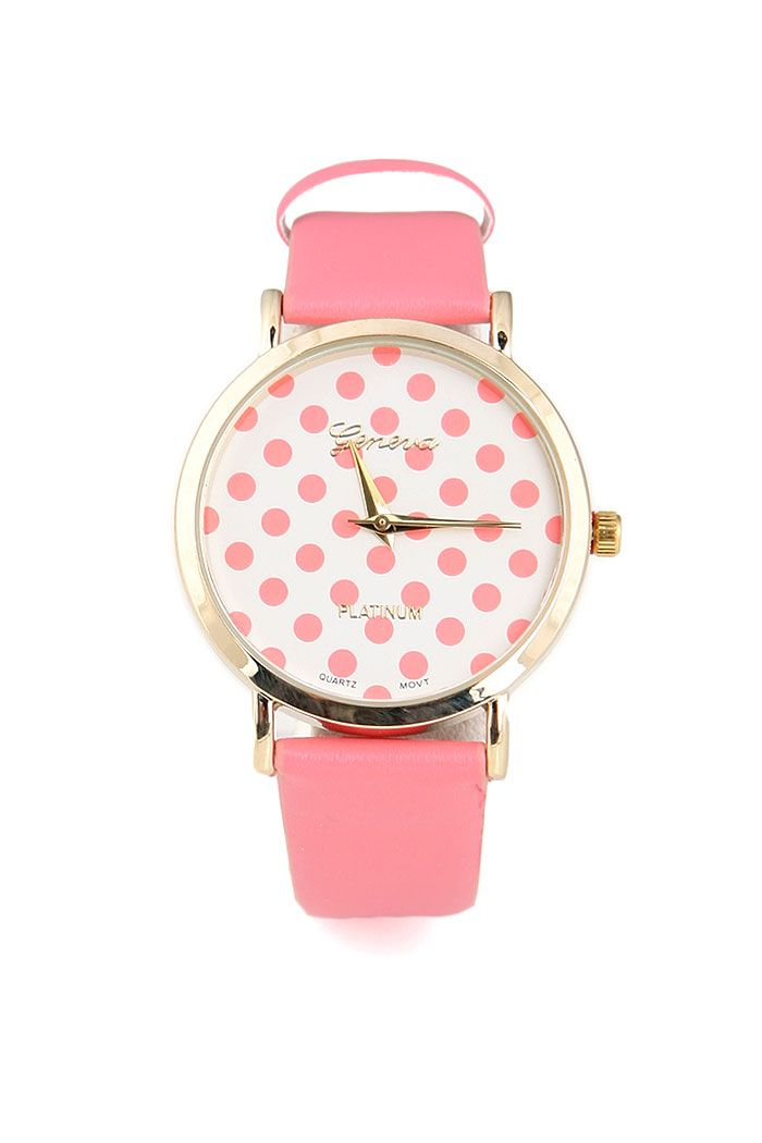 happy summer watch I wish this was black polk a dot!!!