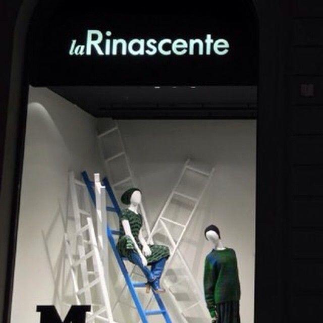 """LA RINASCENTE,Milan, Italy, """"No Way Out"""", pinned by Ton van der Veer"""