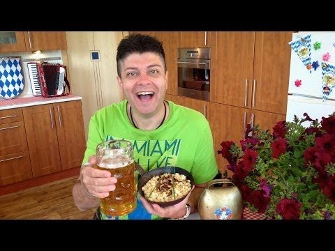 NEJLEPŠÍ RECEPT NA BAVORSKÉ SÝROVÉ ŠPETZLE, MUSÍTE VIDĚT!!! - YouTube