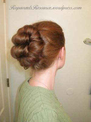 For those of you women attending the Downton Abbey Experience in style, here is a good tutorial for pin rolls, a popular Edwardian hairstyle