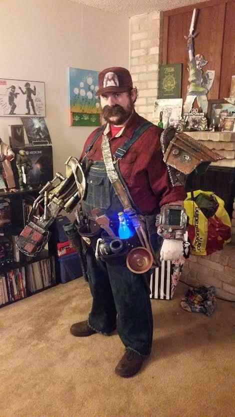 Fallout Mario Cosplay http://ift.tt/2eYTRQQ