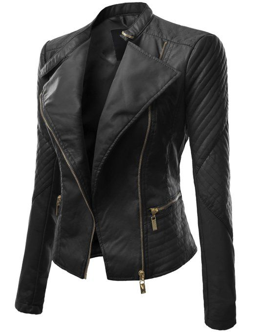 10 best Women's Leather Jackets images on Pinterest