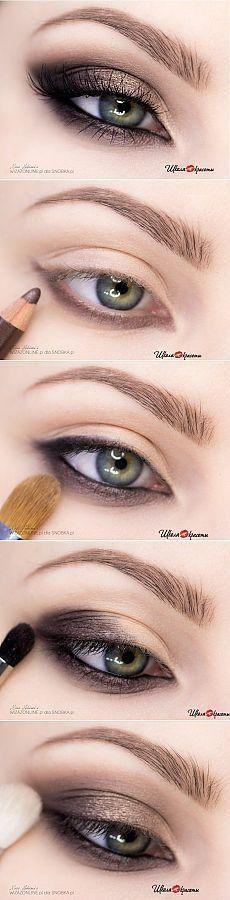 Делаем шикарный вечерний макияж / Школа красоты:
