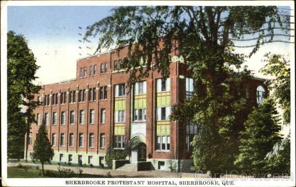 Sherbrooke Hospital  1939