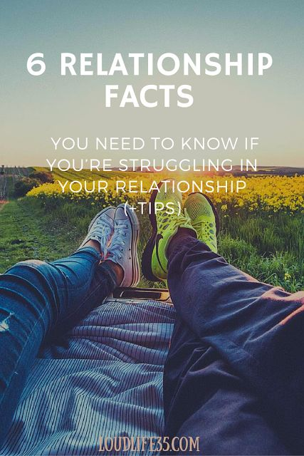 6 Relationship Facts You need to know if you're struggling in your relationship (+Tips)