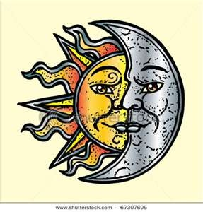 Image Result For Sun And Moon Tatoo