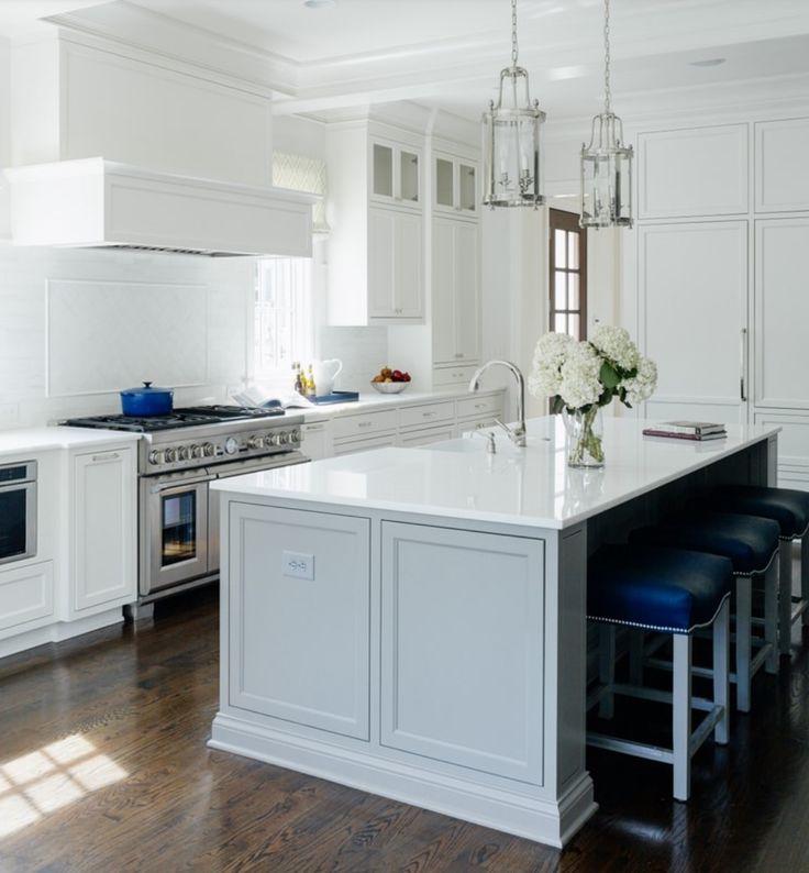 Best 25 Grey Kitchen Island Ideas On Pinterest: Best 25+ Blue Gray Kitchens Ideas On Pinterest