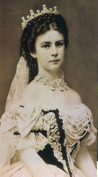 HIM Empress Elisabeth of Austria (1837-1898) née Her Royal Highness Duchess Elisabeth in Bavaria. (Sisi)