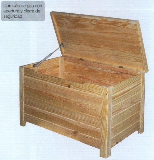 Las 25 mejores ideas sobre baul de madera en pinterest y - Baules para exterior ...