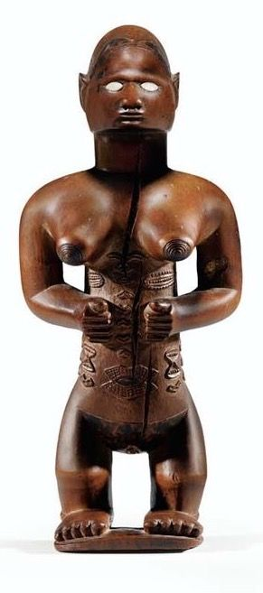 Africa | Statue from the Bembe Gangala people from the Republic of Congo | Wood. H: 20 cm | cca. 1969 or earlier