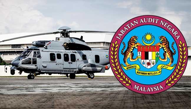 Audit: Projek helikopter EC725 gagal siap dalam tempoh ditetapkan   Kontraktor gagal menyiapkan projek prasarana itu mengikut tempoh kontrak walaupun selepas 4 kali tarikh tamat dilanjutkan.  DEWAN RAKYAT  PETALING JAYA: Projek prasarana untuk Kementerian Pertahanan bagi menempatkan helikopter EC725 di pangkalan tentera udara Kuantan gagal disiapkan lapor Laporan Ketua Audit Negara 2016.  Laporan itu turut melaporkan kontrak kontraktor bertanggungjawab ditamatkan 8 Disember tahun lepas…